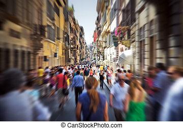 Vražen na úzké italské ulici