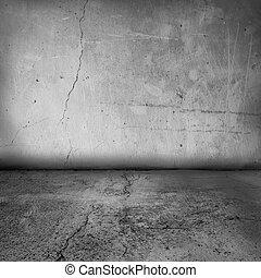 Vrchová zeď a podlahu