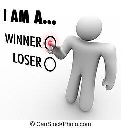 vybrat, přání, následovat, ty, val, jeho, samec, vzkaz, loser?, dotyk, voják, chooses, já, domněnka, symbolizovat, chránit, vítěz, nebo, konzerva, důvěra