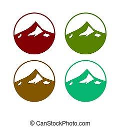 Vyměněné barevné hory, 4 umění v různých barvách
