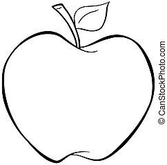Vysazený jablko