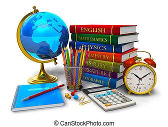 Vzdělání a zpět do školy