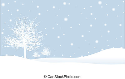 winter výjev