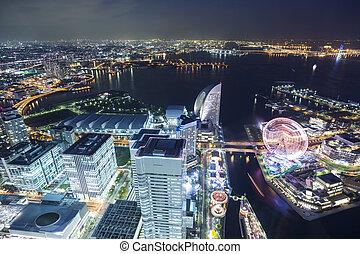 Yokohama, nejlepší výhled na metro