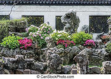 Yuyanská zahrada shanghai china