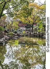 Yuyuanská zahrada shanghai