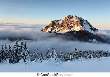 Zářská horská krajina