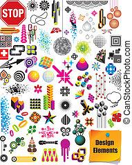 základy, design, vybírání
