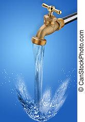 zředit vodou kohout