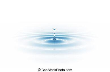 zředit vodou poslat řádku, osamocený, neposkvrněný