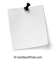 Zatlač papír a papírový papír
