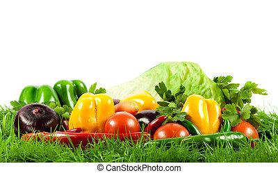 Zdravé jídlo. Sezónní organická zelenina.
