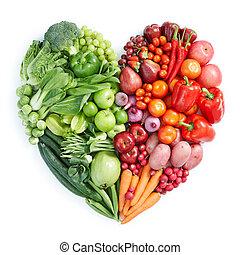zdravý food, mladický ryšavý