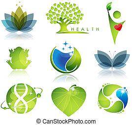 Zdravotní péče a ekologické symboly