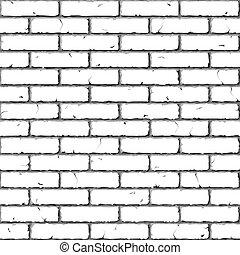 Zeď. Bezedná struktura.