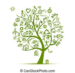 Zelená ekologie pro tvůj návrh