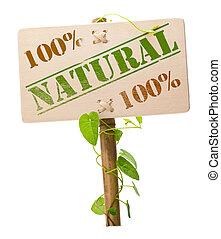 Zelená přírodní a biosignie