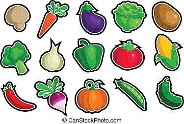 Zelenové ikony