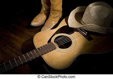 země hudba, světlomet