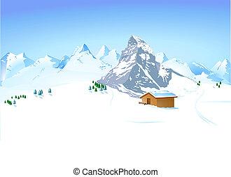 Zima s horami