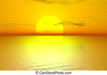 Zlaté slunce