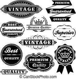 Značka Vintage