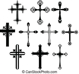 znak, dát, kříž