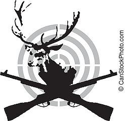 znak, hon, jelen