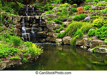 Zneškodnění vody a rybník