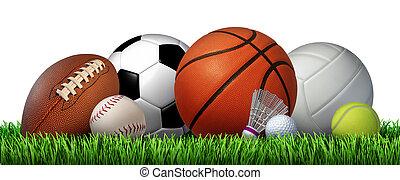 zotavení, sportovní, volno