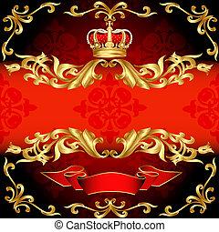 Zrcová stopa, zlatý vzor a korona