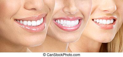 Zuby ženy