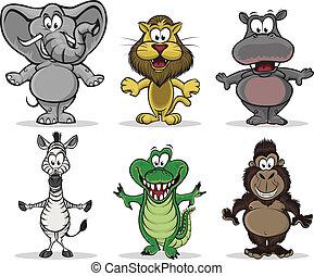 Zvířata z Afriky